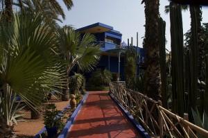 Jardins Majorelle em Marrakech