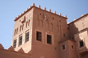 Torre de kasbah marroquino