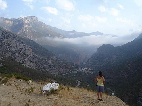 Montanhas do Riff em Marrocos