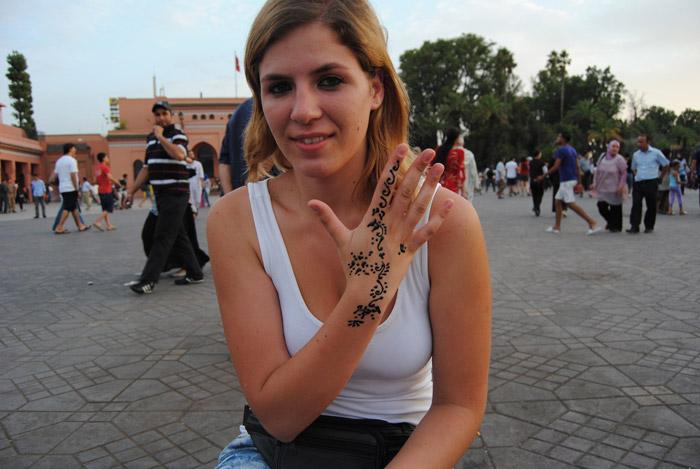 Mulheres a viajarem sozinhas em Marrocos
