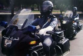 Polícia em Marrocos