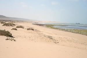 Praia em Marrocos