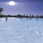 Oasiria Park - Praia artificial em Marraquexe, Marrocos