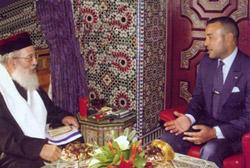 Rabino judeu e Rei de Marrocos