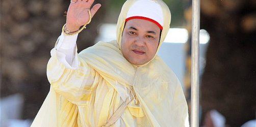 O Rei de Marrocos