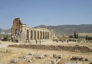 Ruínas romanas de Volubilis, Marrocos
